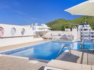 outdoor pool - hotel duquesa playa - santa eulalia, spain