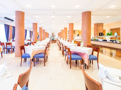 restaurant 2 - hotel thb gran playa - adults only - can picafort, spain