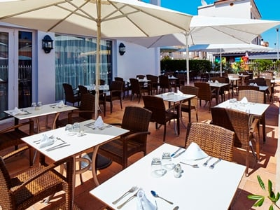 restaurant - hotel thb gran playa - adults only - can picafort, spain