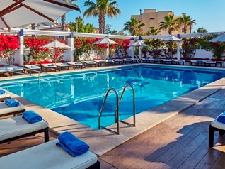 outdoor pool - hotel thb gran playa - adults only - can picafort, spain