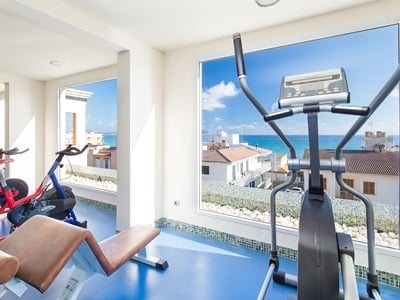 gym 1 - hotel thb gran playa - adults only - can picafort, spain
