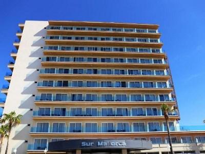 exterior view - hotel thb sur mallorca - colonia sant jordi, spain