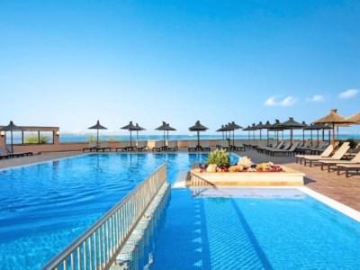 outdoor pool - hotel thb sur mallorca - colonia sant jordi, spain