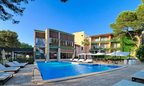 outdoor pool - hotel h10 punta negra - portals nous, spain