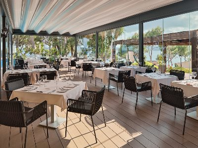restaurant - hotel h10 punta negra - portals nous, spain