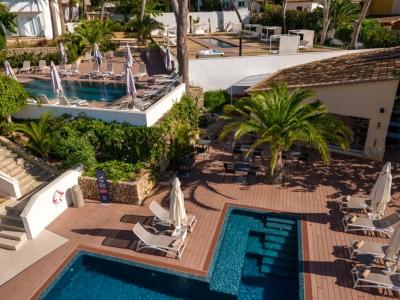 outdoor pool - hotel rd mar de portals - portals nous, spain