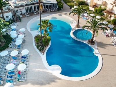 outdoor pool - hotel thb sa coma platja - sa coma, spain