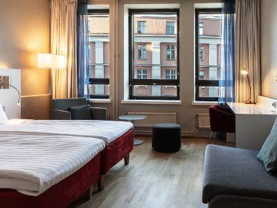 bedroom 2 - hotel scandic kaisaniemi - helsinki, finland