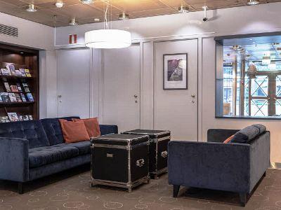lobby - hotel scandic kaisaniemi - helsinki, finland
