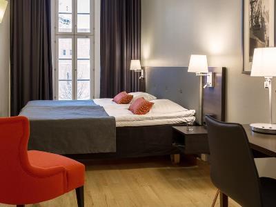 bedroom 2 - hotel scandic grand marina - helsinki, finland