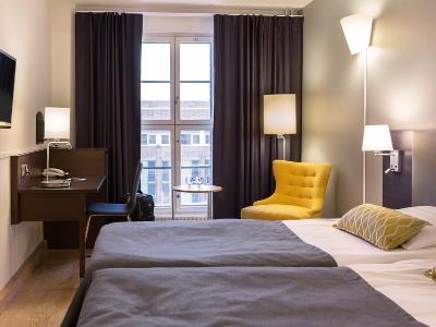 bedroom 1 - hotel scandic grand marina - helsinki, finland