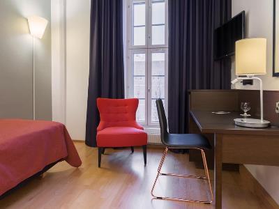 bedroom 3 - hotel scandic grand marina - helsinki, finland