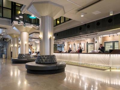 lobby - hotel scandic grand marina - helsinki, finland