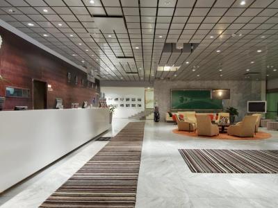 lobby - hotel hilton helsinki kalastajatorppa - helsinki, finland