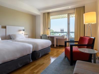 bedroom 1 - hotel hilton helsinki kalastajatorppa - helsinki, finland