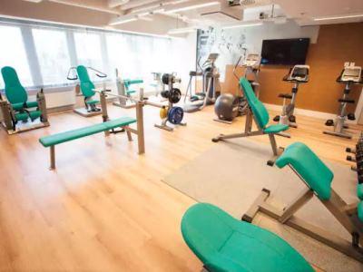 gym - hotel scandic meilahti - helsinki, finland