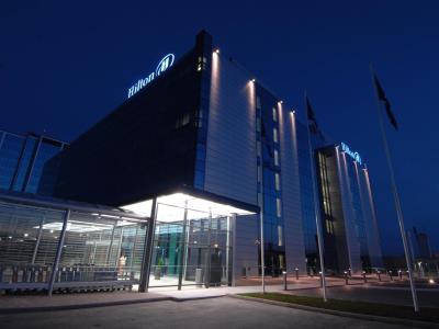 exterior view 1 - hotel hilton helsinki - vantaa airport - vantaa, finland