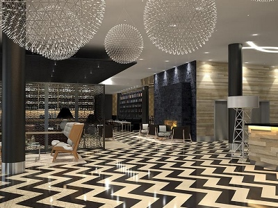 lobby - hotel clarion hotel aviapolis - vantaa, finland