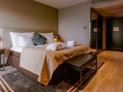 bedroom 7 - hotel clarion hotel aviapolis - vantaa, finland