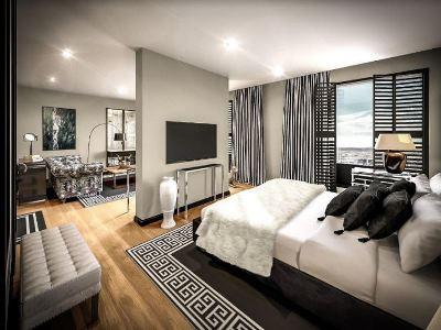 bedroom - hotel clarion hotel aviapolis - vantaa, finland