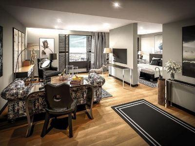 bedroom 1 - hotel clarion hotel aviapolis - vantaa, finland