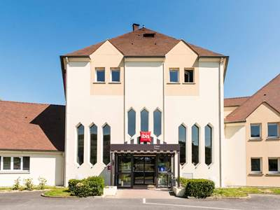 exterior view - hotel ibis chateau-thierry - essomes sur marne, france