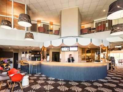 lobby - hotel ibis chateau-thierry - essomes sur marne, france