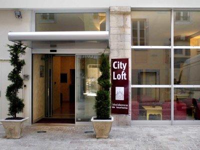 exterior view 1 - hotel city loft - dijon, france