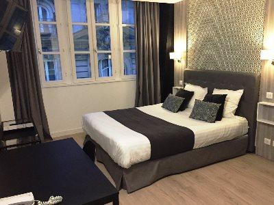 bedroom 2 - hotel city loft - dijon, france