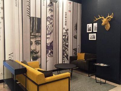 lobby - hotel city loft - dijon, france