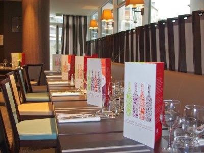 restaurant 1 - hotel mercure charpennes - lyon, france