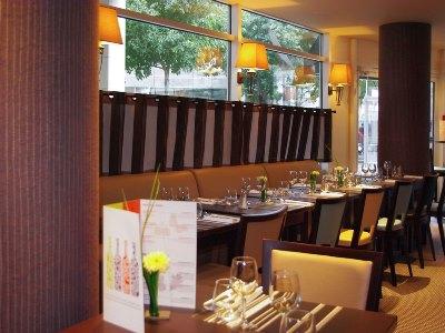 restaurant 2 - hotel mercure charpennes - lyon, france