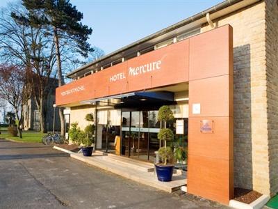 exterior view - hotel mercure mont st michel - mont st michel, france