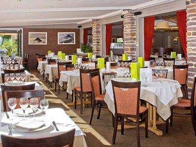restaurant 1 - hotel mercure mont st michel - mont st michel, france