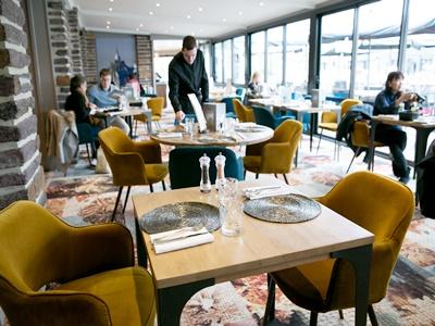 restaurant 3 - hotel mercure mont st michel - mont st michel, france