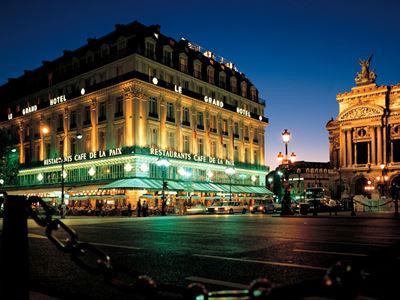 exterior view - hotel intercontinental paris-le grand - paris, france