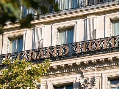 exterior view 1 - hotel intercontinental paris-le grand - paris, france