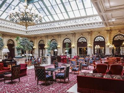 lobby - hotel intercontinental paris-le grand - paris, france
