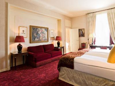 bedroom 3 - hotel intercontinental paris-le grand - paris, france