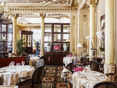 restaurant - hotel intercontinental paris-le grand - paris, france