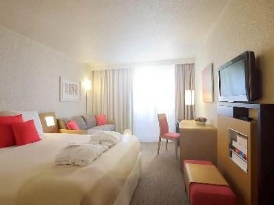 bedroom 2 - hotel novotel reims tinqueux - reims, france