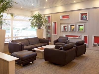 lobby - hotel novotel reims tinqueux - reims, france