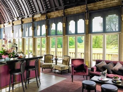 bar - hotel mercure warks walton hall - walton-warwickshire, united kingdom