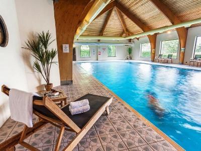 indoor pool - hotel castle inn, bw signature collection - bassenthwaite, united kingdom