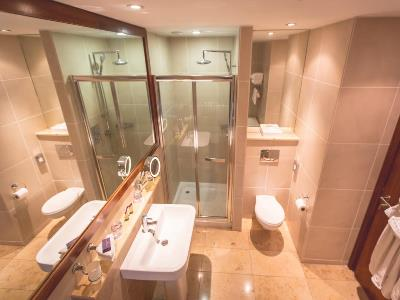 bathroom - hotel europa - belfast-n.irl, united kingdom