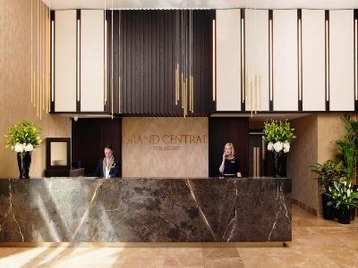 lobby - hotel grand central hotel belfast - belfast-n.irl, united kingdom