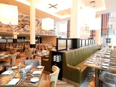 restaurant - hotel grand central hotel belfast - belfast-n.irl, united kingdom