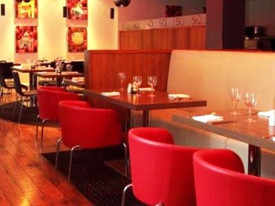 restaurant 1 - hotel ramada encore - belfast-n.irl, united kingdom