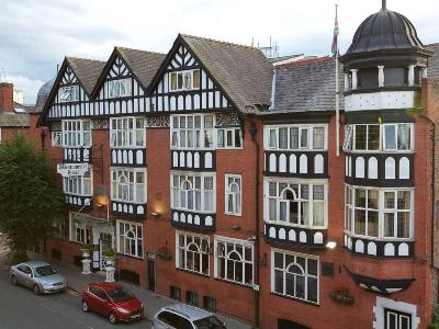 exterior view 1 - hotel chester station,sure collection by bw - chester, united kingdom