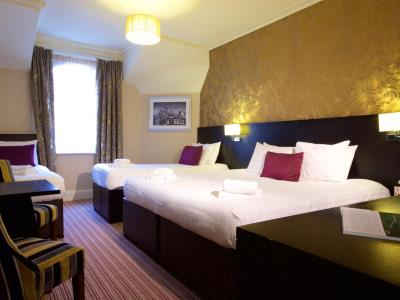 bedroom 1 - hotel chester station,sure collection by bw - chester, united kingdom